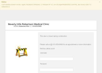 Beverly+Hills+Robertson+Medical+Clinic Website