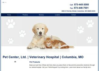 Pet+Center+Ltd Website