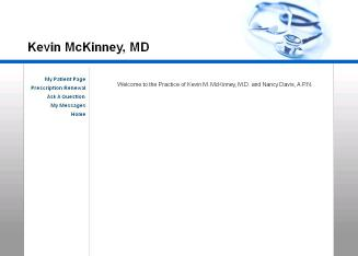 Kevin+M+McKinney+MD Website
