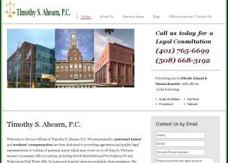 Timothy+S+Ahearn+Law+Offices Website