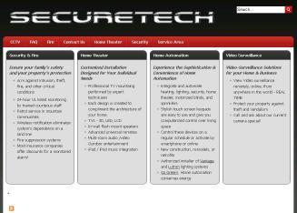 Securetech+Security+Inc Website