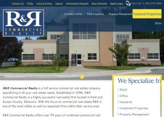 R+%26+R+Commercial+Realty Website