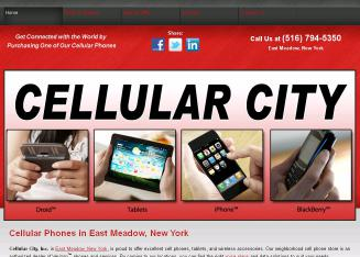 Cellular+City Website