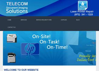Telecom+Document+Imaging+Solutions Website
