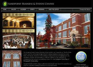 Sandpoint+Business+%26+Events+Center Website
