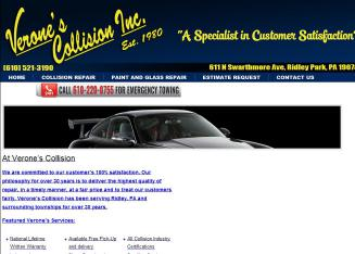 Verone%27s+Collision+Inc Website