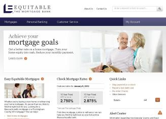 Equitable+Bank Website