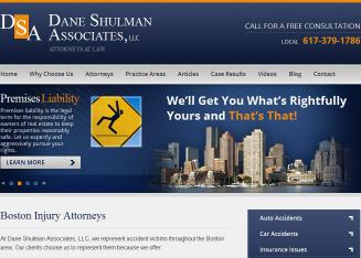 Dane+Shulman+Associates+LLC Website
