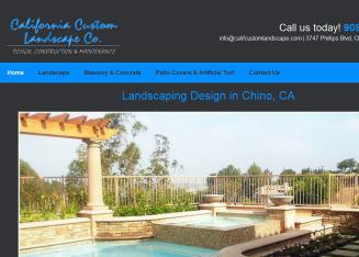 California Custom Landscape Co.