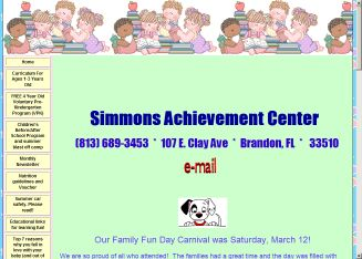 Achievement+Center+For+Early+Learning+Kindergarten Website
