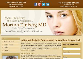 Associated+Dermatology+Center Website