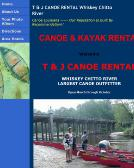 T+%26+J+Canoe+Rentals Website