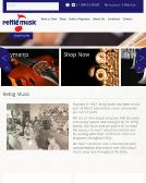 Rettig+Music Website