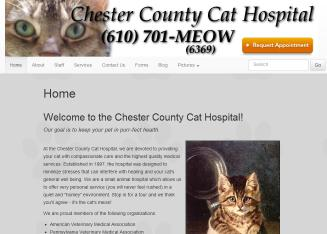 Chester+County+Cat+Hospital Website