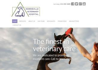 Morrisville+Veterinary+Hospital Website