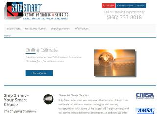 Ship+Smart Website