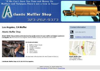 Atlantic+Muffler+Shop Website