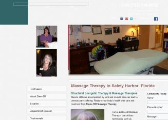 Massage+Therapy+By+Diane+Dill Website