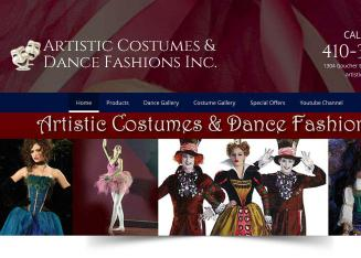 Artistic+Costumes+%26+Dance+Fashions+Inc Website
