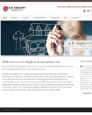 A.R.+Gaglioti+Construction+Inc Website