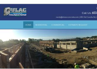 Dulac%27s+Concrete+Foundations Website