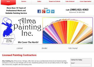 Alma Painting Inc
