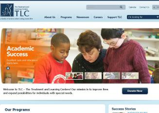 TLC-The+Treatment+%26+Learning+Centers Website
