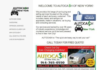 Auto+Cash+of+New+York Website