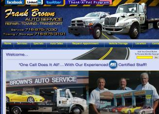 Brown%27s+Auto+Repair+%26+Vehicle+Storage Website