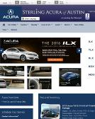 Sterling+Acura+of+Austin Website