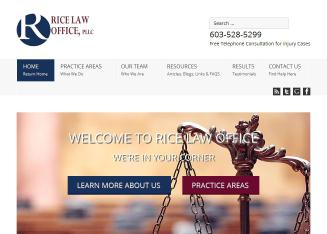Rice+Law+Office+PLLC Website