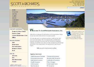 Advantage+Group+Scott+Richards+Insurance+Inc Website