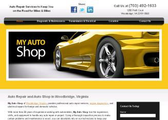 Auto Repair Woodbridge on My Auto Shop Llc In Woodbridge  Va   1280 Profit Ct  Woodbridge  Va
