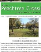 Peachtree+Crossings Website