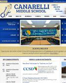Canarelli+Middle+School Website