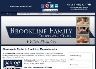 Brookline+Family+Chiropractic+Center Website