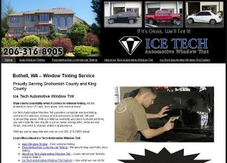 Ice Tech Auto Window Tint