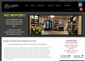 Hair+Studio+Sonterra Website