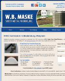 W+B+Maske+Sheet+Metal+Works Website