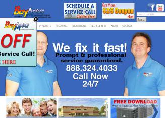 Bay+Area+Air+Conditioning Website