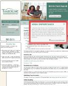 Timberline+Bank Website