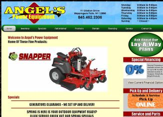 Angel%27s+Power+Equipment Website