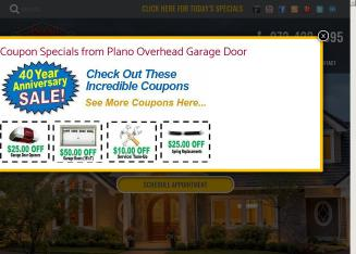 Plano+Overhead+Garage+Door Website