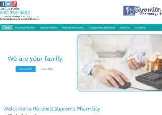 Horowitz+Pharmacy Website