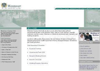 Westover+Country+Club Website