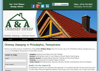 A Amp A Chimney Sweep In Philadelphia Pa 6217 Lawndale