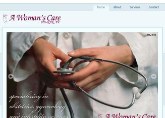 A+Woman%27s+Care+OB+GYN+PC Website