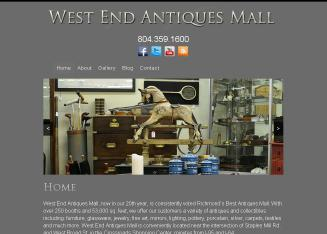 West+End+Antiques+Mall Website