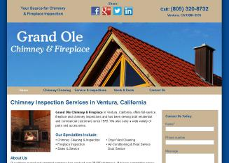 Grand Ole Chimney & Fireplace in Ventura, CA | 1285 Fallen Leaf ...