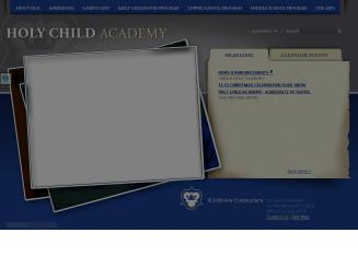 Holy+Child+Academy Website